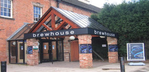 Outside the Brewhouse Arts Centre